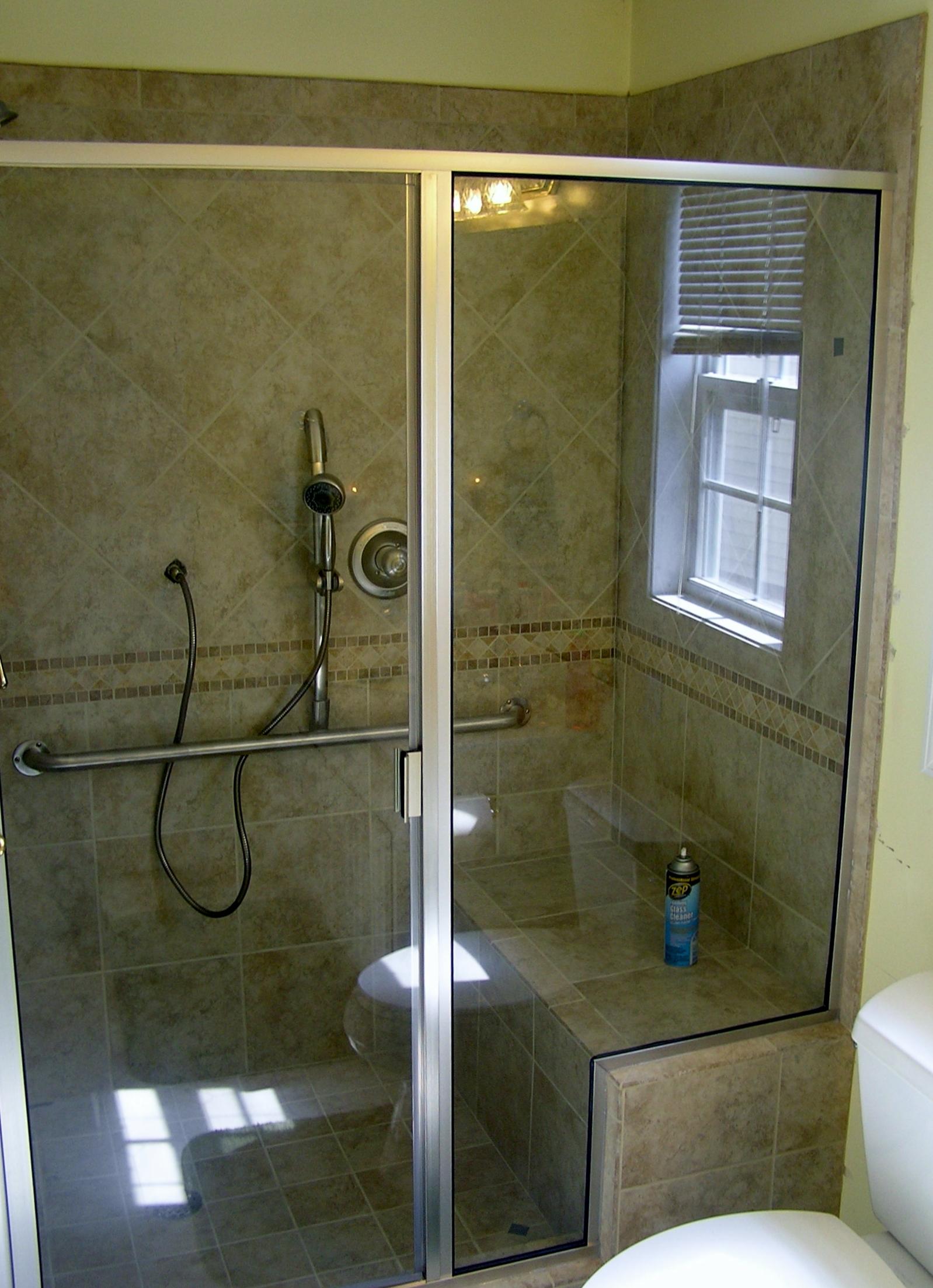 Shower door replacement