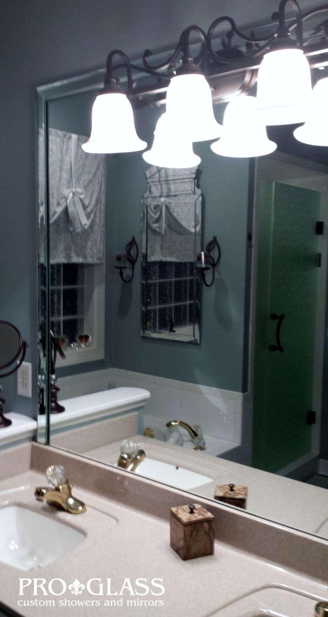Custom Mirror Gallery Raleigh Mirror Company Proglass