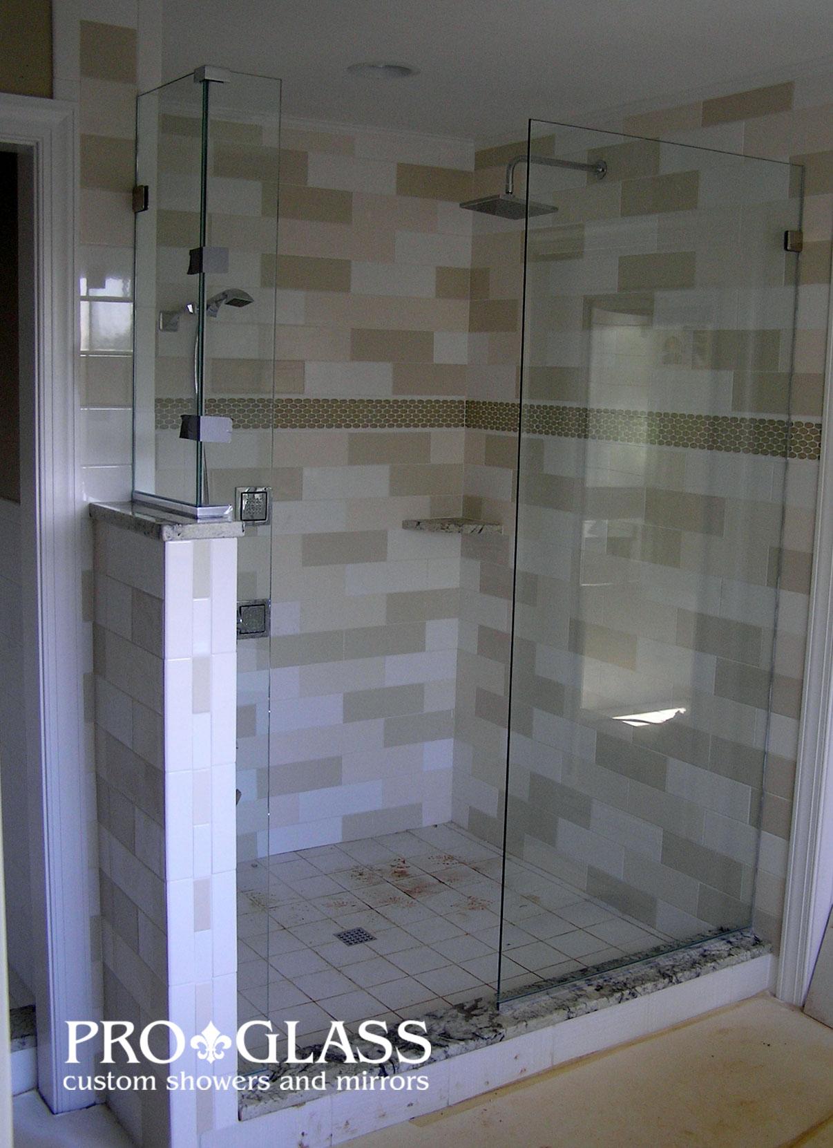 custom showers pro glass. Frameless Showers  At ProGlass Glass Shower Examples Raleigh Proglass Gallery