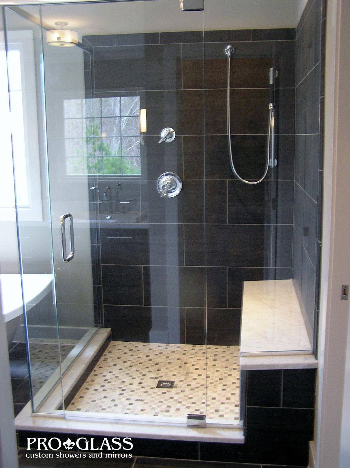 custom showers pro glass. Showers Glass Shower Examples Raleigh  Proglass Gallery
