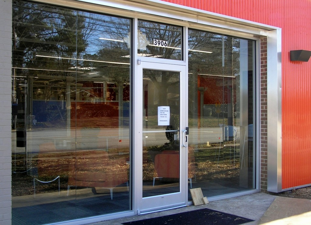 Commercial Glass NC | Storefront Glass Downtown Raleigh
