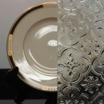 Morisco textured glass