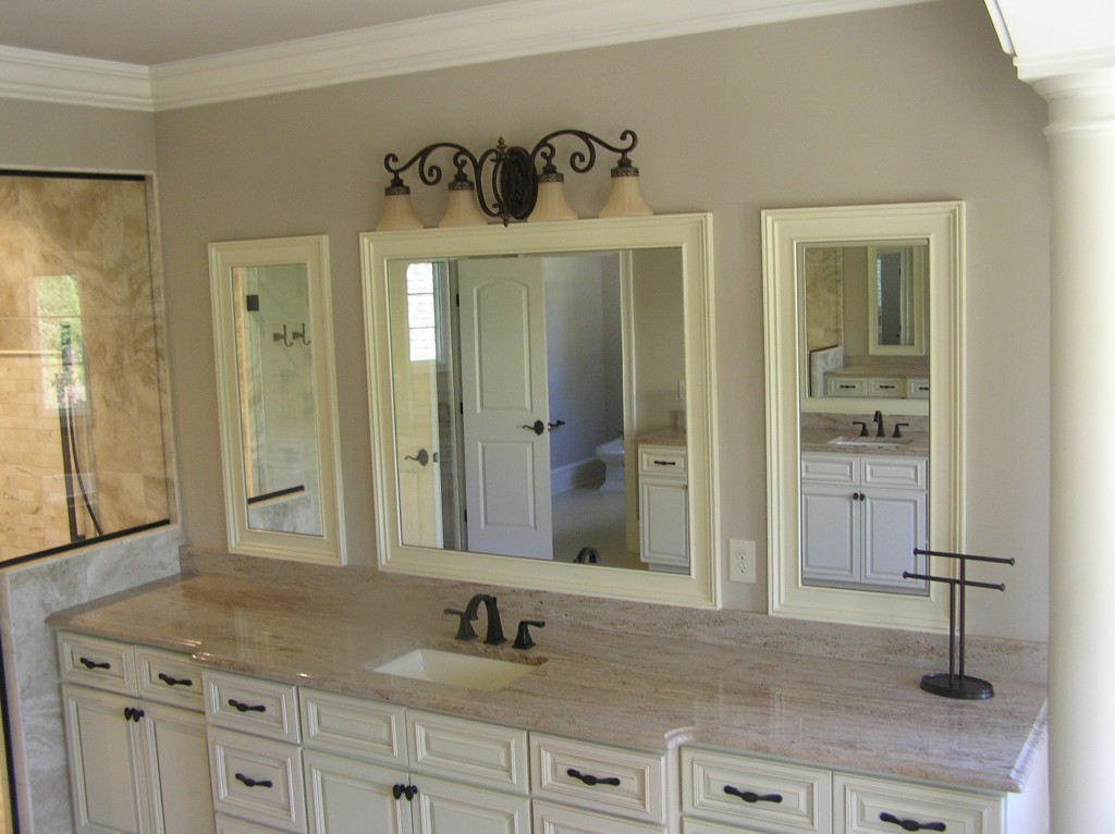 Wood framed custom mirrors